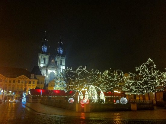 Maximilian Hotel: My favorite time of year in Prague.