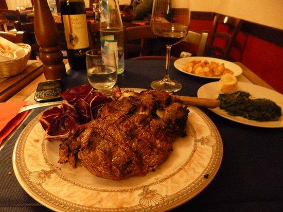 Trattoria Nella : florentine steak