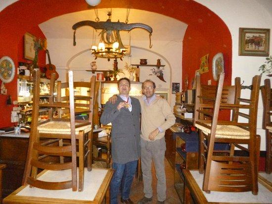 Trattoria Nella: brother of owner