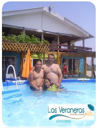 Hotel Las Veraneras : Huéspedes Felices y Cómodos