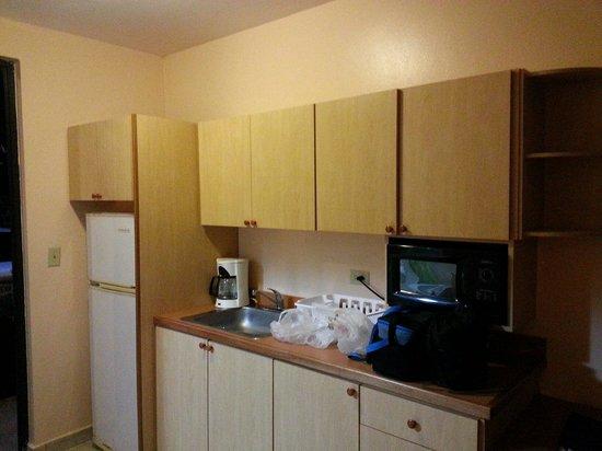 The Fajardo Inn: Suite small kitchen