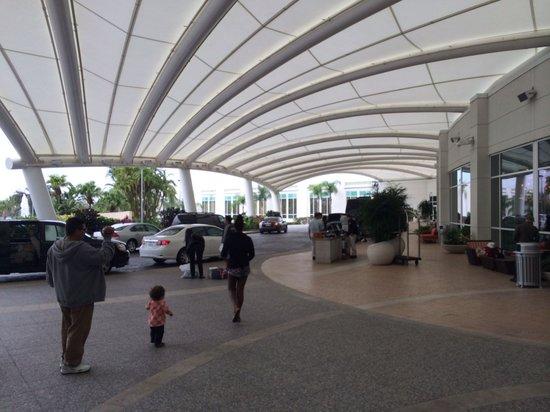 Hilton Orlando: Entrance area