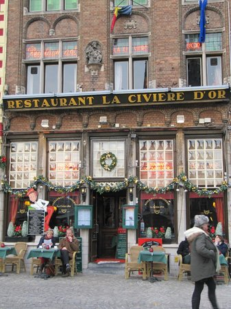 La Civiere D'Or: A good place for Flemish food.