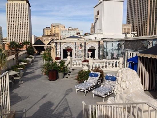 Le Pavillon Hotel: Rooftop