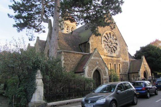The Victoria: The church in the neighborhood