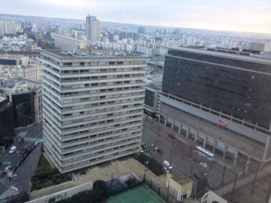Pullman Paris Montparnasse: vue de la chambre