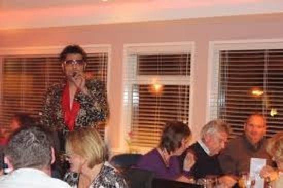 Zaika Indian Cuisine: Elvis night held at Zaika