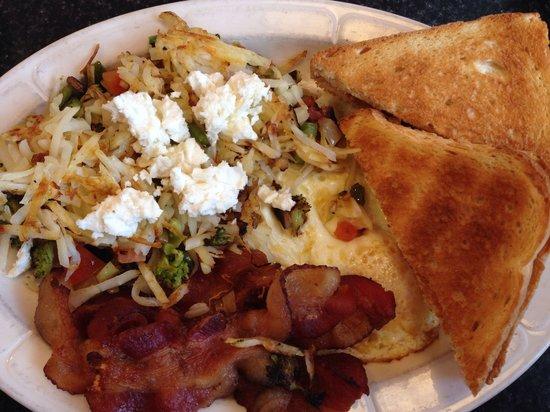 The Diner: Hippie hash breakfast.
