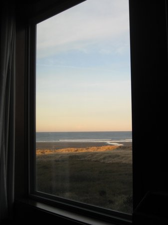 Quinault Beach Resort and Casino: view from the couch