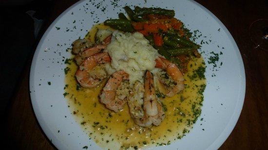 Victoria's Gourmet Italian Restaurant : shrimp