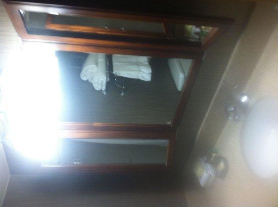 Sheraton Dallas Hotel by the Galleria: Mirrors & sink