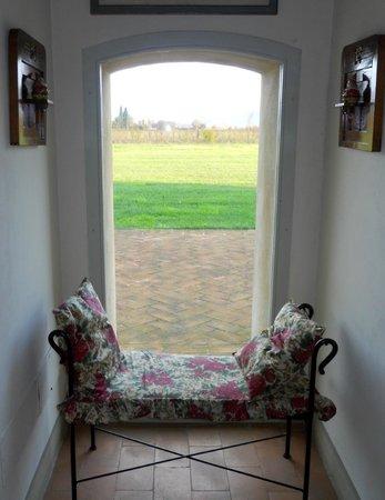 Relais Favorita: panorama dalla finestra