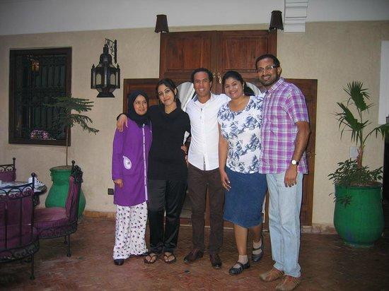 Riad Imilchil: The team!