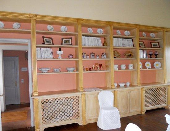 Relais Favorita: sala ristorante al primo piano