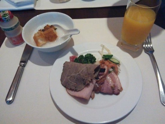 Hotel Eclat Taipei: 朝食