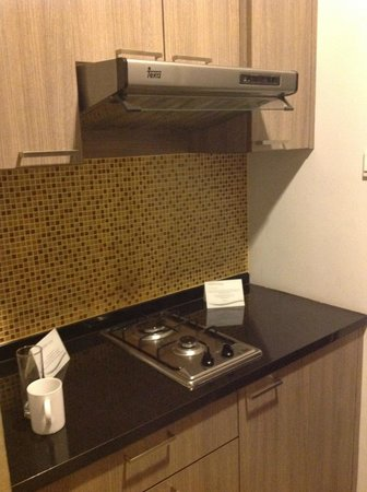 Kitchen At Room Picture Of Aston Balikpapan Hotel Residence