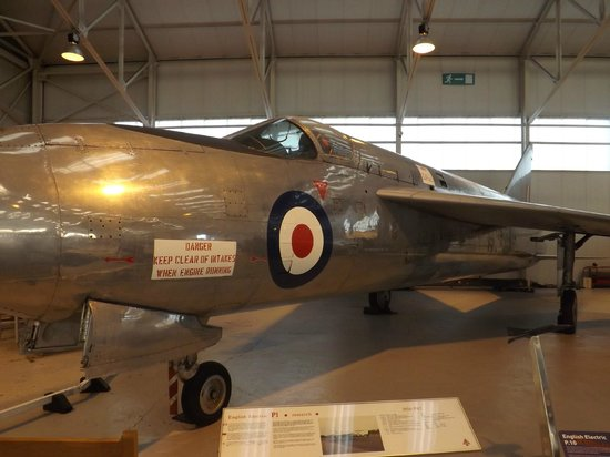 Royal Air Force Museum Cosford: English Electric P1.B