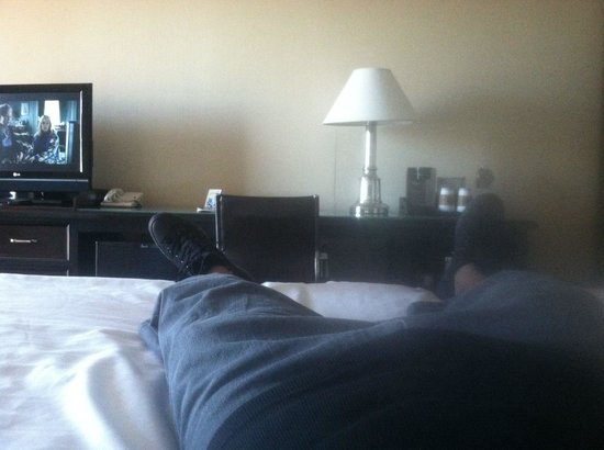 Sheraton Dallas Hotel by the Galleria: Bed view