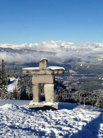 Whistler Blackcomb: What a view