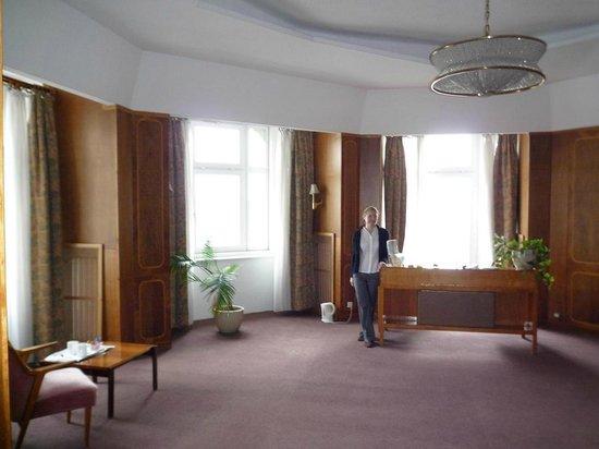 Danubius Hotel Gellert: гостиная