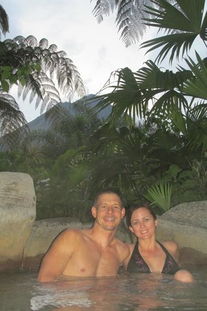 Arenal Paraiso Hotel Resort & Spa: hot springs #1 - awesome view