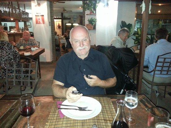 Restaurante Fortuna Nova: Enjoying dinner @ Fortuna Nova