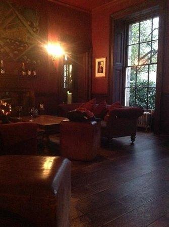 Hotel du Vin & Bistro : cozy fire