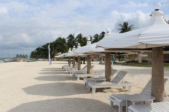 Santa Fe Beach Club: Beach Area