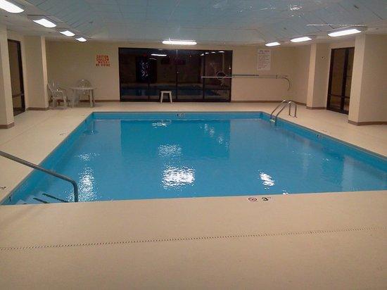 Quality Inn & Suites University : Indoor pool