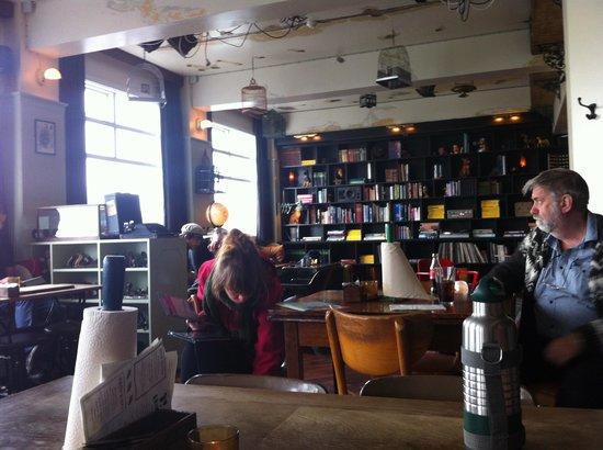Kex Hostel : The lounge/bar