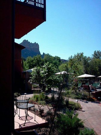 Amara Resort & Spa, a Kimpton Hotel: View from our Patio