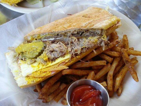 Copacabana: Sandwich Cubano awesome
