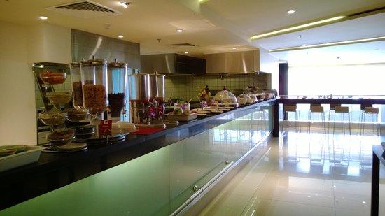 Ibis Riyadh Olaya Street: Breakfast buffet