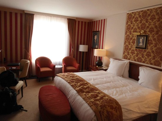 Hotel Dukes' Palace Bruges: Superior double