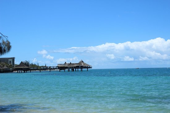 Nouvata : Baie des  Citronniers : vue de la plage