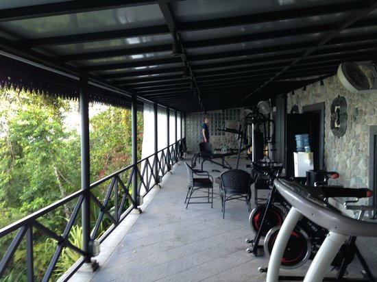 Hotel Villa Caletas: The gym