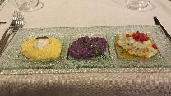 Aqualux Hotel Spa & Suite Bardolino: Trilogia di risotti