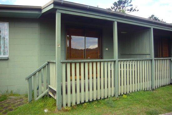 O'Reilly's Rainforest Retreat, Mountain Villas and Lost World Spa: Zimmer von außen