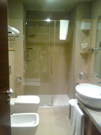 Aqualux Hotel Spa & Suite Bardolino: Bagno n. 2: la doccia!