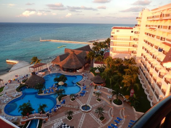 El Cozumeleno Beach Resort: View from our room