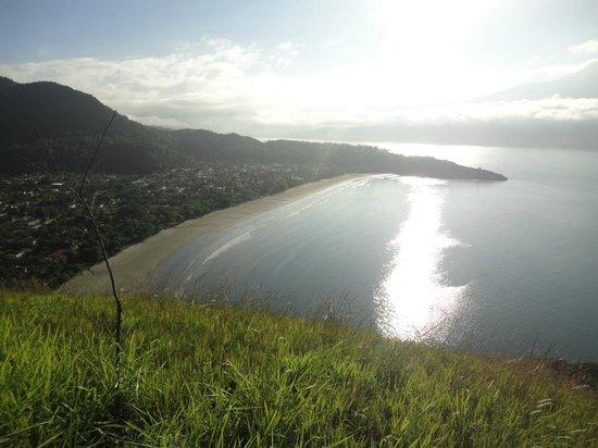 Valentina Praia Hotel : Vista do Morro da SABESP - Praia Barequeçaba