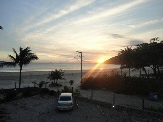 Pôr do Sol - Sacada do apartamento Valentina Praia Hotel