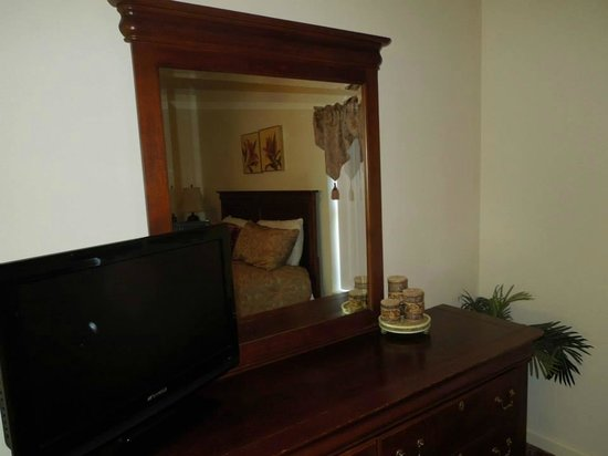Whispering Pines Condominiums: Dresser in bedroom