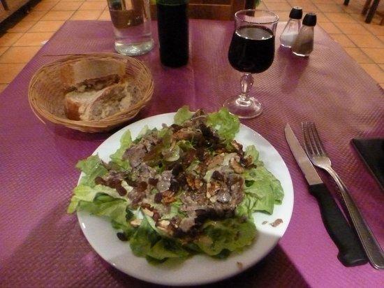 Le Gascon: Salad starter