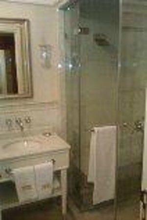 Pera Palace Hotel, Jumeirah: Shower room (no bathtub)