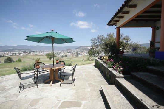 Hotel Molino de la Alborada: Terraza del lobby