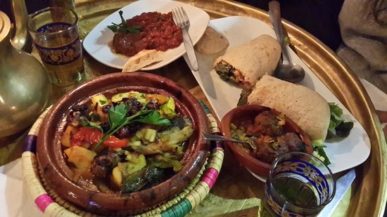 Photo of Moroccan Restaurant Picknickbank at Weißadlergasse 7, Frankfurt 60311, Germany