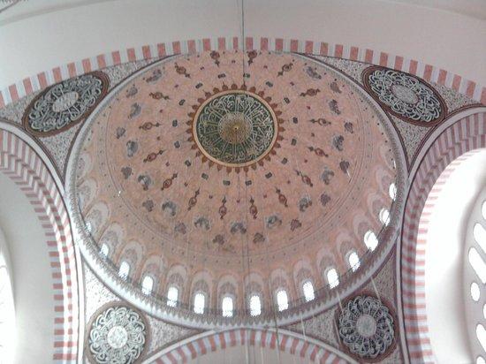 Süleymaniye-Moschee: Купол мечети Сулеймание
