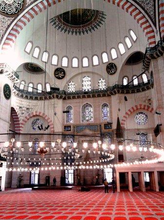 Süleymaniye-Moschee: Внутри Мечети Сулеймание