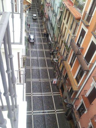 Gran Hotel La Perla: Vista a calle La Estafeta